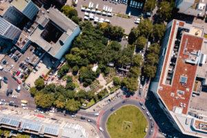 Luftaufnahme Moritzplatz